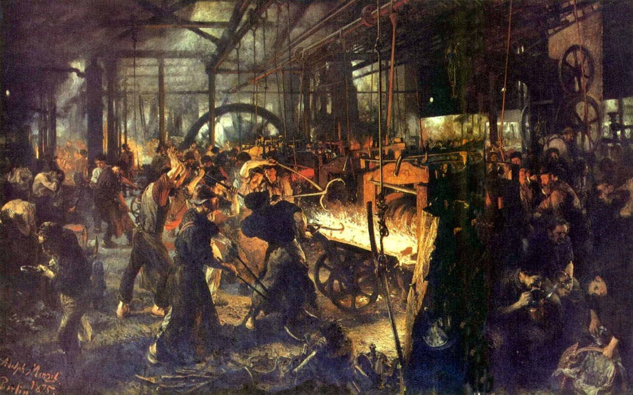 a history of the luddites in england